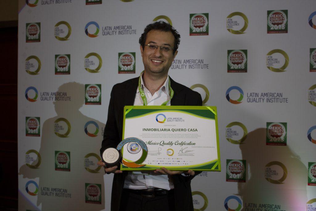 Quiero Casa gana premio como Empresa Mexicana del Año 2018
