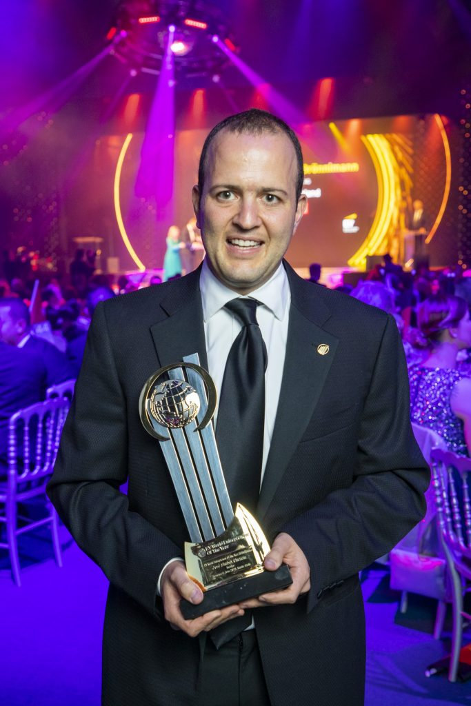 Pepe Shabot representa a México en el EY World Entrepeneur of the Year 2019